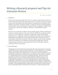 Research-Proposal-Tips-For-Writing-Literature-Review By Elisha ...