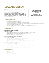 Best Business Resume Template Business Resume Template