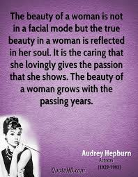 The True Beauty Of A Woman Quotes