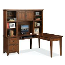 t shaped office desk. L Shaped Desk Home Office Furniture With Hutch Brown Diy T . F