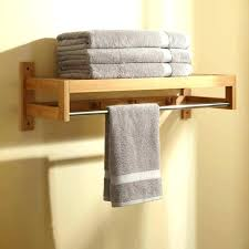 acacia wood towel rack contemporary racks and stands wooden holder kitchen uk standing