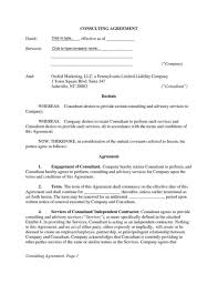 Consulting Services Agreement Template - Kleo.beachfix.co