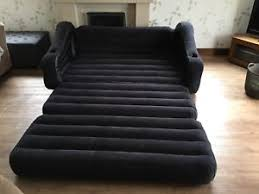 intex inflatable furniture. Image Is Loading INTEX-Black-Inflatable-Furniture-Pull-Out-Chair-Sofa- Intex Inflatable Furniture R