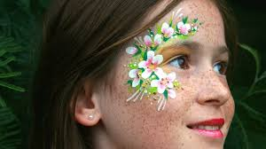 fairy face painting and makeup tutorial bonus learn all about 3d glitter gel you