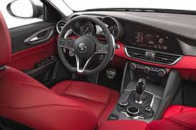 alfa romeo giulia interior. Contemporary Romeo 2017 Alfa Romeo Giulia Giulia Interior Red Throughout