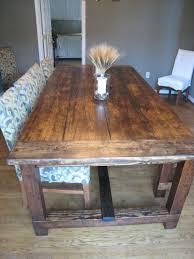 rustic dining table diy. Rustic Farmhouse Dining Room Table For Inspiring Best 25 Ideas On Pinterest Farm Diy A