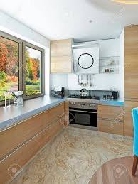 Modern Kitchen Dining Room In The Style Of Kitsch Kitchen With