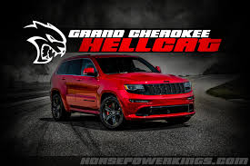 2018 jeep srt8 hellcat. plain jeep update 11216 well folks we originally reported that the hellcat jeep  cherokee is coming back in january of 2015 and today fiatchrysler has confirmed  and 2018 jeep srt8 hellcat 8