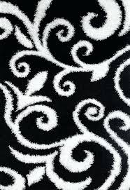 damask area rug black and white area rugs attractive rug intended for fab habitat hand modern