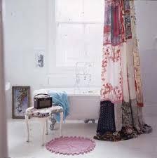 vintage shower curtain. Patchwork Vintage Shower Curtain