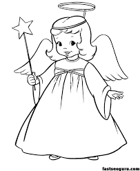Small Picture Excellent Ideas Angels Coloring Pages Print Angel To Download And