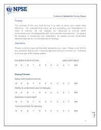 Satisfaction Survey NPSEin Customer Satisfaction Survey Report 12