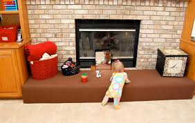 fireplace baby proof ideas