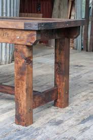 Rustic Furniture Stain Best 25 Rustic Table Ideas On Pinterest Wood Table Kitchen