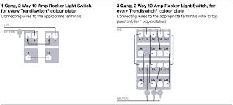 advice trendi switch 2 way configuration electricians forum in the left diagram note that l of the left module goes to the light from where the n goes back to supply n at first sight it looked like you feed