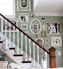 must try stair wall decoration ideas 12