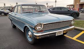 63 Chevy II sedan, too many are just thrown to the side for their ...