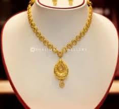 gold necklace set of shalimar