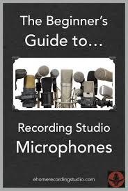 Piccolo Sala Registrazione : I microfoni per lo studio di registrazione la guida definitiva