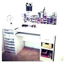 diy makeup vanity table. Interesting Diy Vanity Organizer Diy Makeup Table Ideas Storage  Dresser Tables With Drawers Picture Desk Design  To H