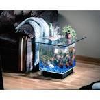 Маленький аквариум в интерьере