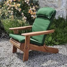 cool adirondack chair cushions design ideas endearing wood patio furniture ideas brown wooden varnished adirondack chair with footrest cushion green fabric