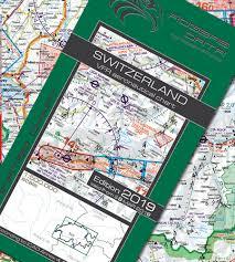 Switzerland Vfr Aeronautical Chart Icao Chart 500k 2019