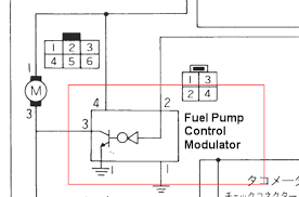 interesting fuel pump part nissan forum nissan forums apparently the jdm models got a fuel pump that was more akin to the one in the z i m not certain on flow rates but this part of the circuit diagram shows