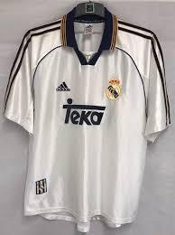 1998 Xl Adidas 00 Real Madrid Football Adults Shirt|The Steelers N'at