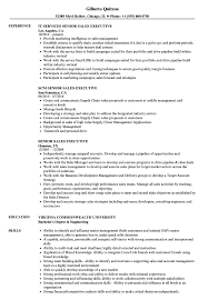 Sales Executive Sample Resume Senior Sales Executive Resume Samples Velvet Jobs