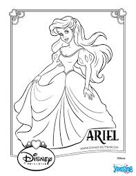 Coloriage De La Princesse Ariell