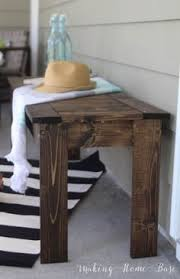 diy furniture west elm knock.  Furniture DIY Slat Bench West Elm Knock Off7 Intended Diy Furniture R