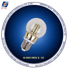 led bulb lighting for chandelier e14 e27 glass material