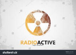 Radiation Logo Design Nuclear Logo Radioactive Logo Design Radiation Stock Vector