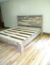 Distressed Wood Bed Frames Distressed Wood Bed Distressed Wood Bed ...
