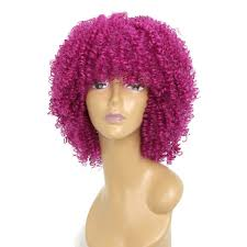 38 Off Afro Curly Hair Fluffy Fashion Short Synthetic Party Wigs