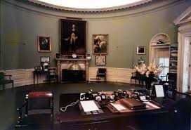oval office fireplace. Truman Oval Office, Behind Desk, Looking Toward Fireplace Office T