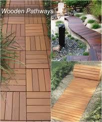 wood gallery wood walkway ideas