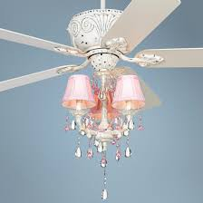 chandelier ceiling fan lovely casa devilleâ pretty in pink pull chain ceiling fan
