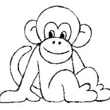 Small Picture Monkey Coloring Pages Koloringpages Monkey adult