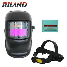 <b>RILAND Solar</b> Auto Darkening Welding Helmet Welder Mask Solder ...