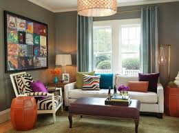 colored living room furniture. Small Living Room Ideas With Urban Style Colored Furniture