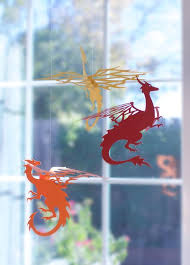 hanging dragons party or room