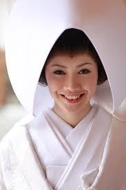 白無垢に合わせる角隠しと綿帽子 花嫁日記 三河神前挙式ブログ