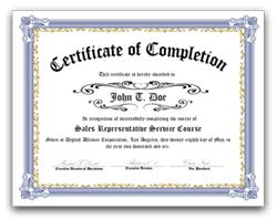 Award Certificate Paper Under Fontanacountryinn Com