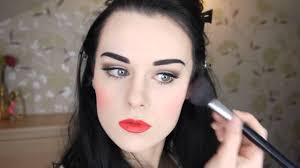 snow white makeup tutorial if disney princesses were real simple makeup