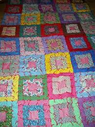 This handmade quilt designed by Florence. Prices start at $75.00 ... & ANTIQUE PATCHWORK QUILT HANDMADE COLORFUL SQUARES COTTON FLANNEL BACKING Adamdwight.com