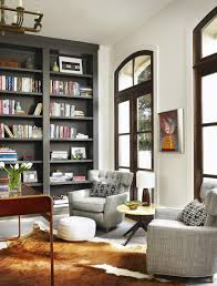 Living Room Bookcases Built In Rooms That Prove Black Built In Bookcases Are The Next Big Thing