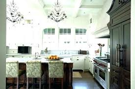 chandeliers for kitchen islands island chandelier over small modern islan