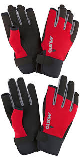 Gill Sailing Gloves Size Chart Musto Essential Sailing Long Finger Short Finger Sailing Gloves Package Red